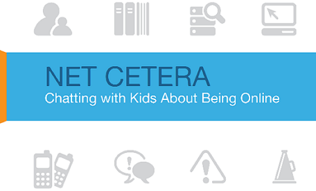 Netcetera Banner - Chatting with Kids About Being Online